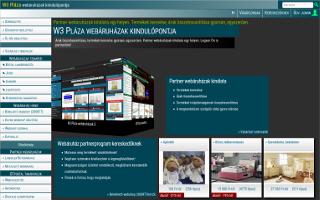 400e354831 Általános Szerződési Feltételek (ÁSZF) a w3plaza.hu webhelyen működő  webáruházban termékeiket eladásra kínáló